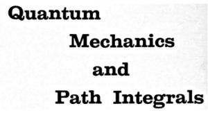 Feynman&Hibbs 裏表紙